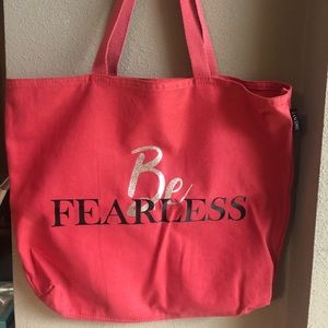 🌸 LANCÔME BE FEARLESS CANVAS BAG 🌸